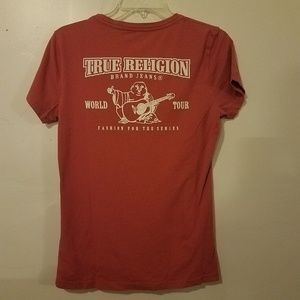 True religion graphic tshirt size medium